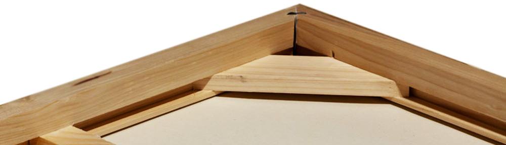 Špičkové dřevěné galerijní rámy typu Wrap